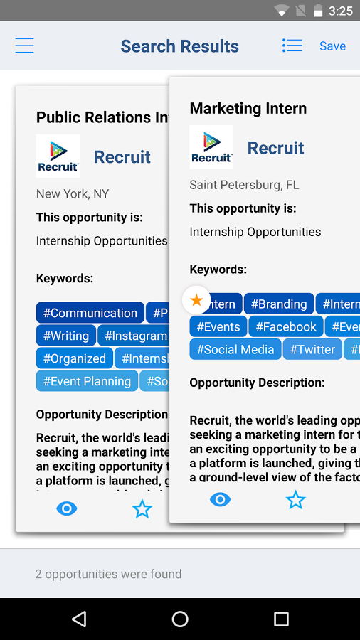 recruit-android-swipe-swiping-job-and-opportunity-search
