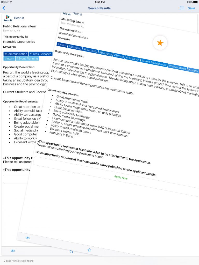 recruit-ipad-swipe-swiping-job-and-opportunity-search